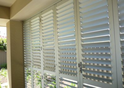aluminum plantation shutters suitable for outside