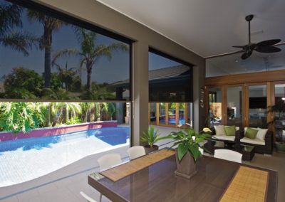 Zip screen blinds turn your verandah into useable space
