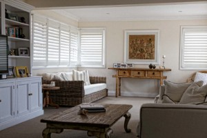 modernise your room with plantation shutters