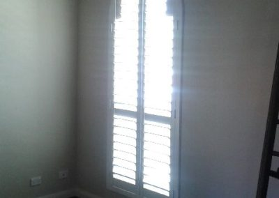 Plantation shutters Arched