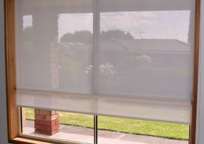 Sheer-holland blinds installed in woodcroft