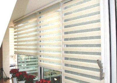 Sheer elegance blind installed in Norwood