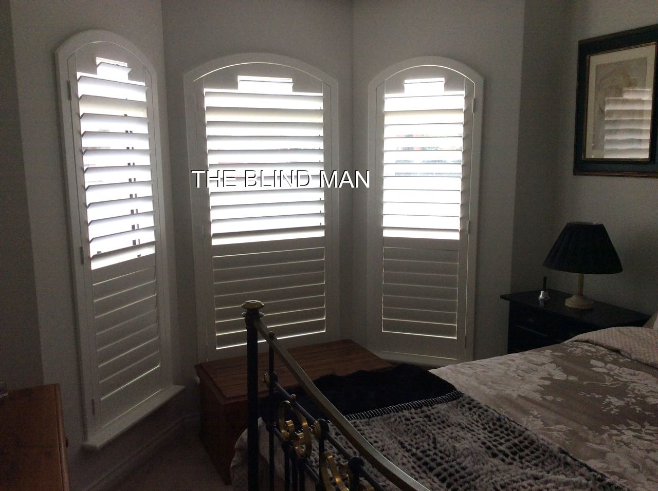 White Plantation Shutters - Stunning Finish - The Blind Man Adelaide