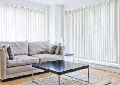vertical blinds can be rotated to any degree that suits you