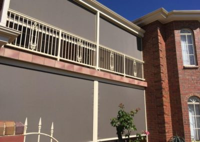 Zipsecreen blind made in our Edwardstown factory installed in Beaumont