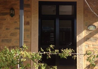 aluminium plantation shutters are great for outside application