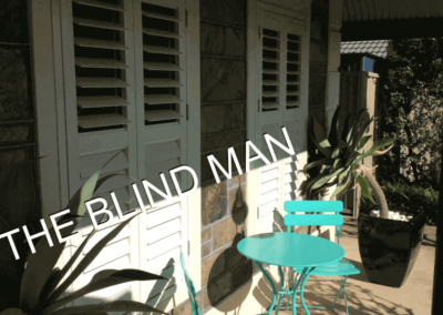 aluminum Plantation shutters installed in woodcroft