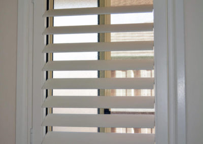 Shutters can also suit small windows - in home or office
