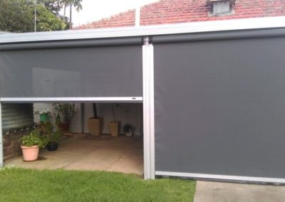 Turn your verandah into usable space with zip screens like this client in Melrose Park did