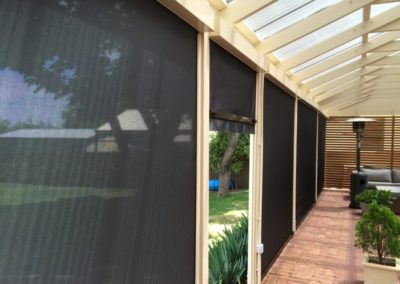 Zip screens installed at prospect