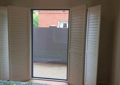 Plantation shutters are a stylish way of adding insulation to any room