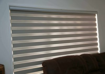 Sheer elegance blinds installed for a suburban Adelaide client