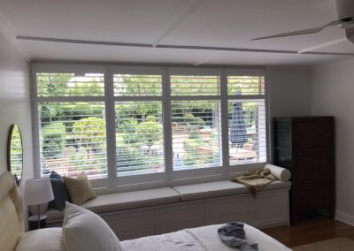 Shutters installed for a client's bedroom in Hawthorn