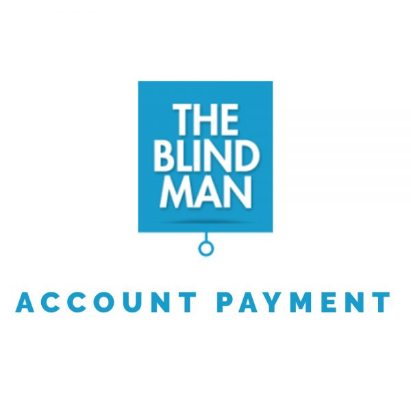 The Blind Man accept online payments