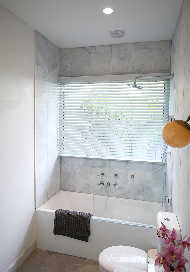 Venetian blinds are very adaptable and can even used in wet areas and they come in a variety colours including white