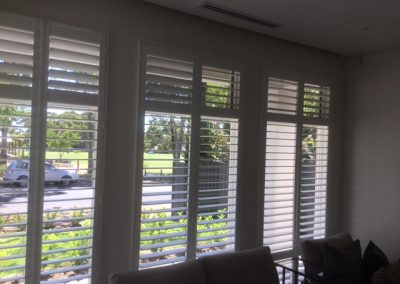 Plantation Shutters installed in a Burnside client's home