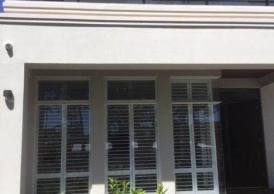 Plantation Shutters installed in an Adelaide client's home